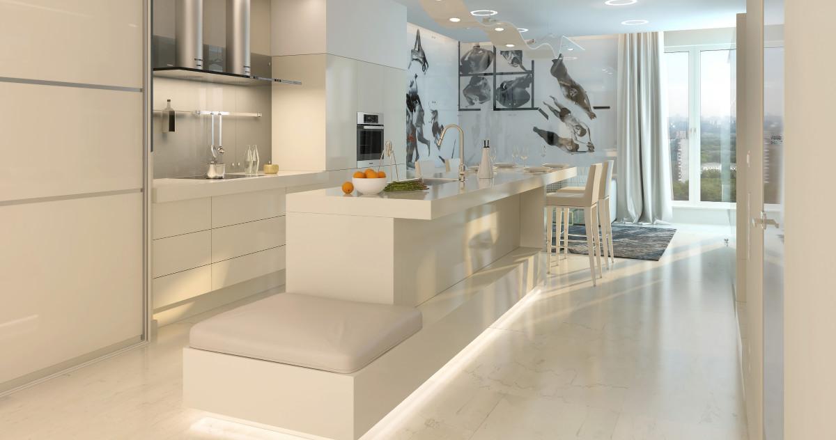 Как сделать квартиру дороже за счёт дизайна: пример из Москвы