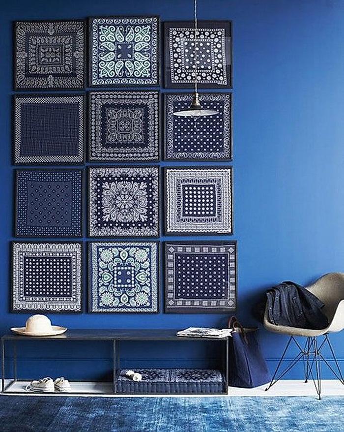 Вдохновение в  цветах:   Голубой, Серый, Фиолетовый, Черный.  Вдохновение в  .