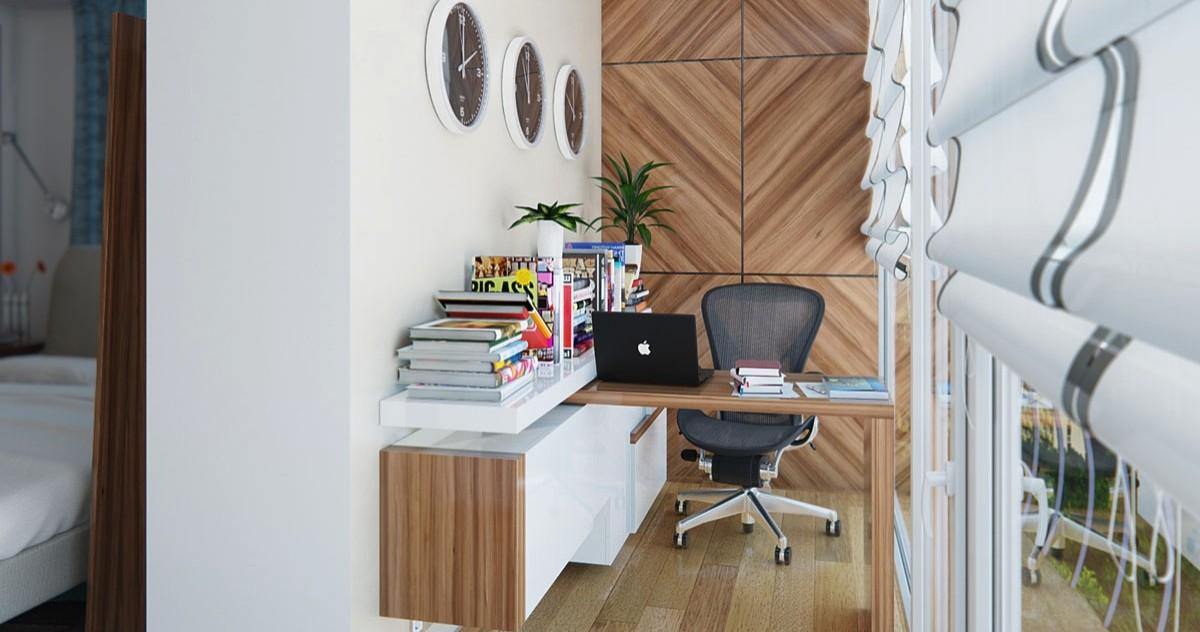 20 удобных и компактных мини-кабинетов для маленькой квартиры