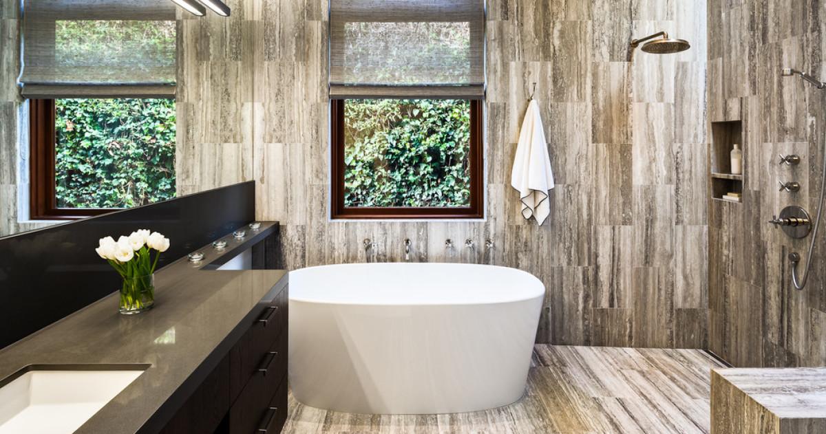 10 главных тенденций в дизайне ванных комнат