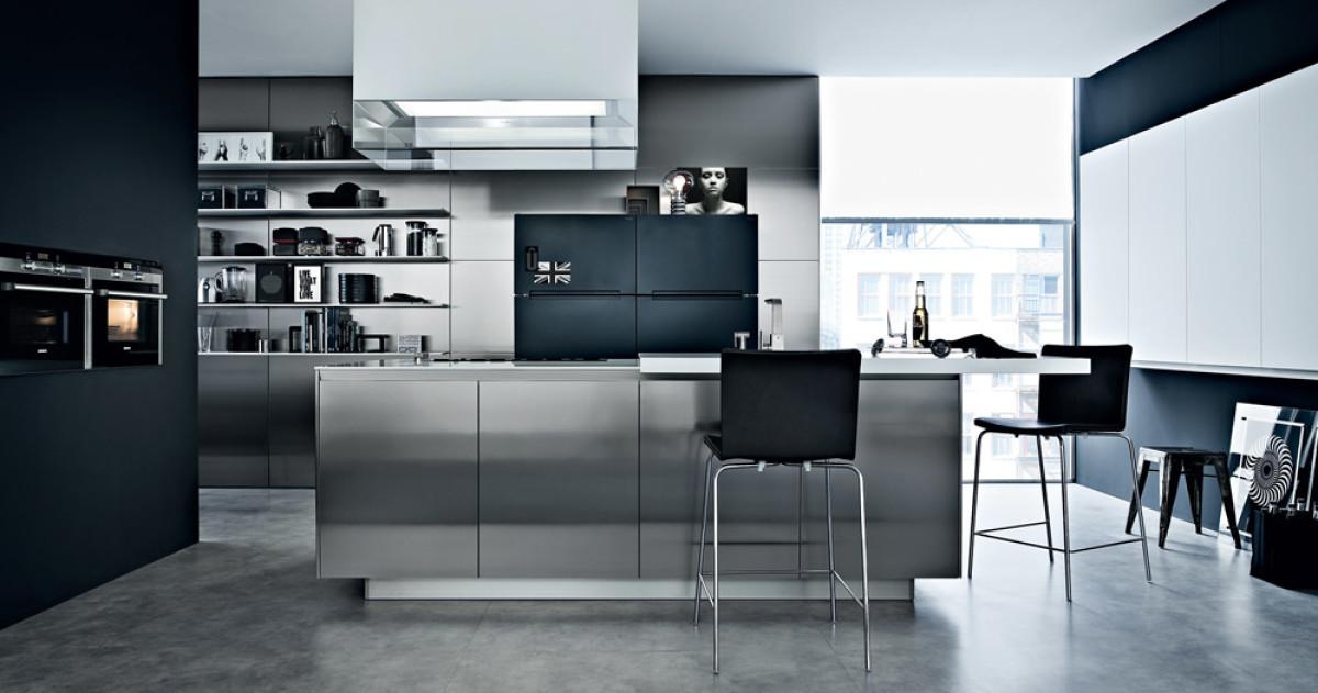 10 актуальных трендов в дизайне кухонь