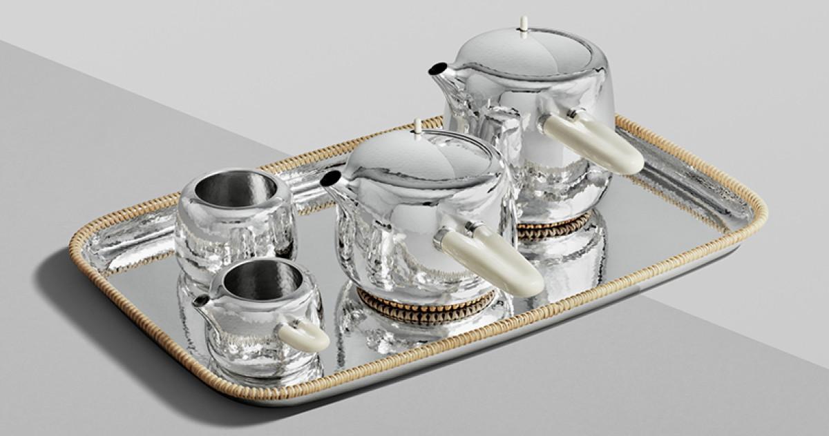 Дизайнер из Австралии сделал чайный сервиз стоимостью 126 тысяч долларов