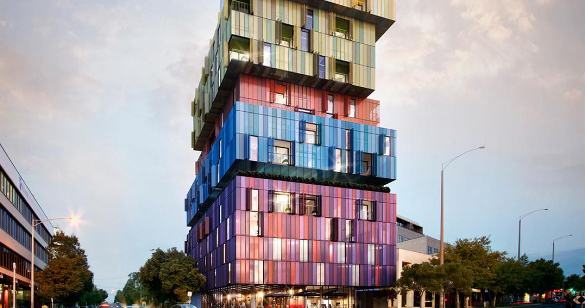Архитектор и художник превратили обычное здание в арт-объект
