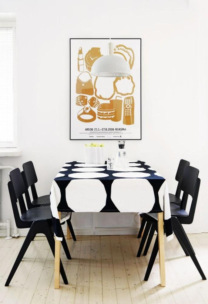 Кухня/столовая в  цветах:   Бежевый, Белый, Светло-серый, Серый.  Кухня/столовая в  стиле:   Минимализм.