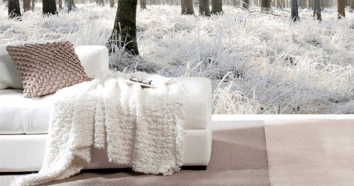 Как преобразить свой дом к зиме: 10 классных примеров с фотообоями