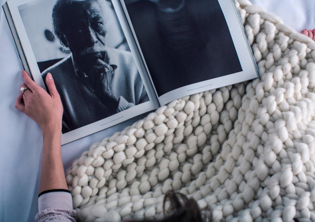Няшный тренд в интерьере-2016: текстиль крупной вязки
