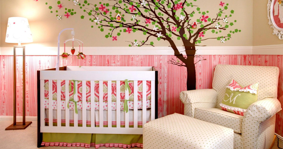 Роспись стен в детской: 10 милейших примеров