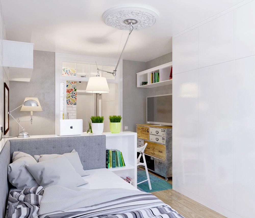 Гостиная, холл в цветах: серый, белый, бежевый. Гостиная, холл в стиле скандинавский стиль.