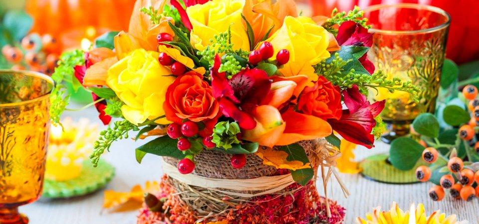 5 идей и 25 примеров осеннего декора