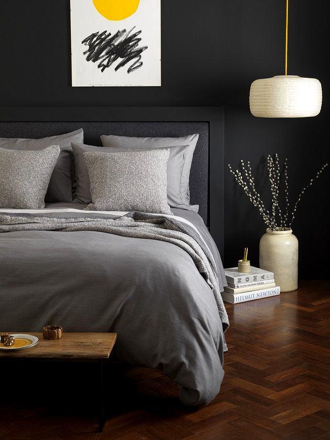 Мебель и предметы интерьера в цветах: серый, светло-серый, темно-коричневый. Мебель и предметы интерьера в стиле эклектика.