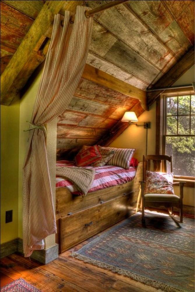 Спальня в цветах: темно-зеленый, темно-коричневый, коричневый, бежевый. Спальня в стилях: этника, эклектика.