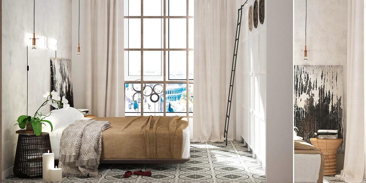 Мебель и предметы интерьера в цветах: серый, белый, темно-зеленый, коричневый, бежевый. Мебель и предметы интерьера в стилях: минимализм, экологический стиль.