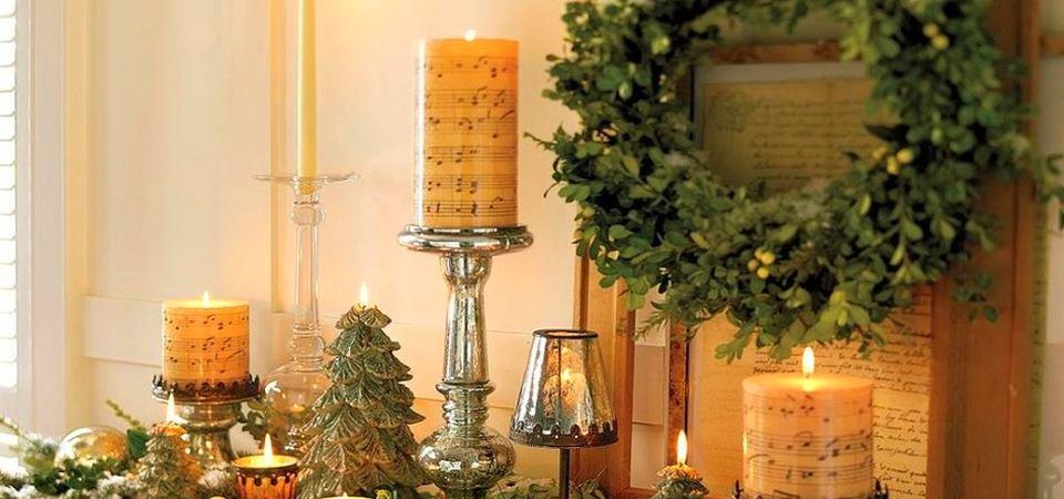 Как украшают свой дом к Новому году звёзды