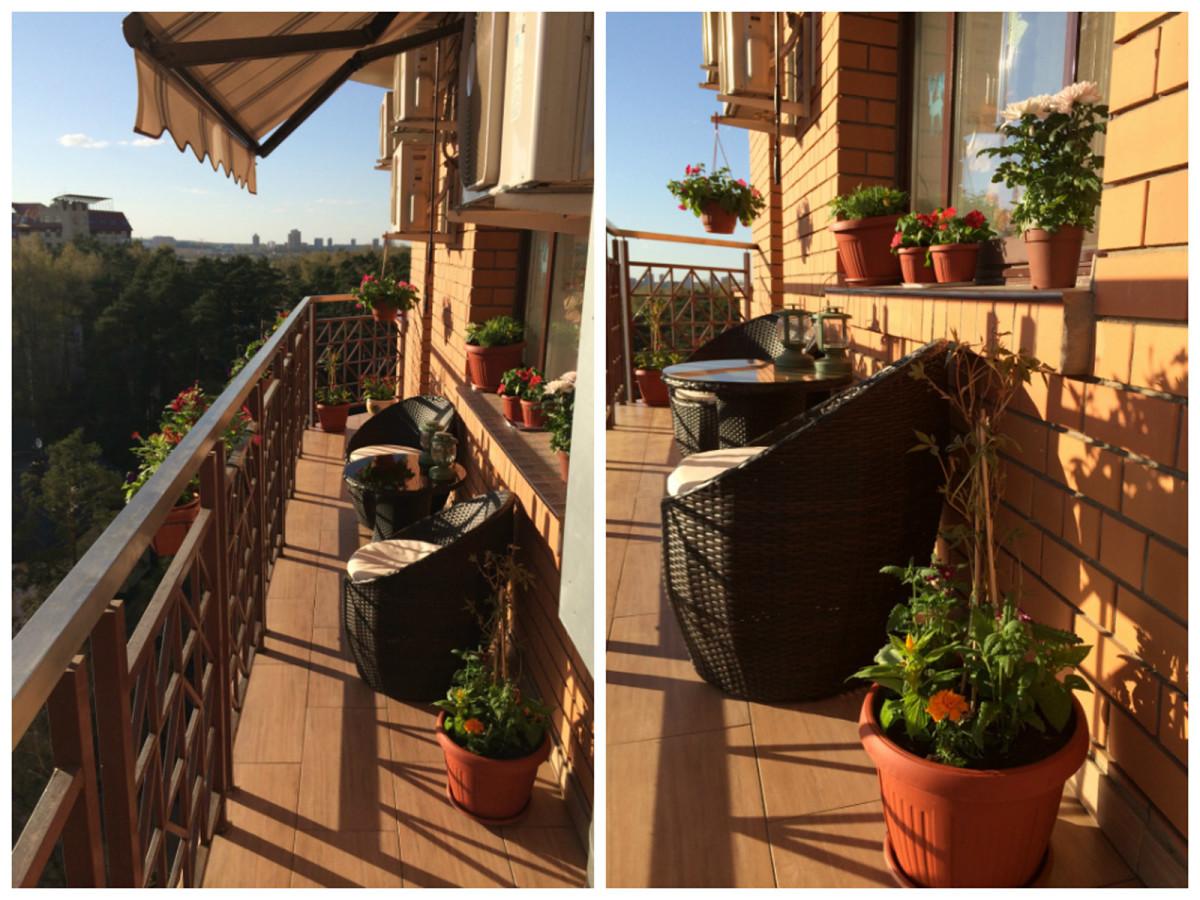 Балкон, веранда, патио в цветах: черный, темно-коричневый, коричневый, бежевый. Балкон, веранда, патио в стиле средиземноморский стиль.