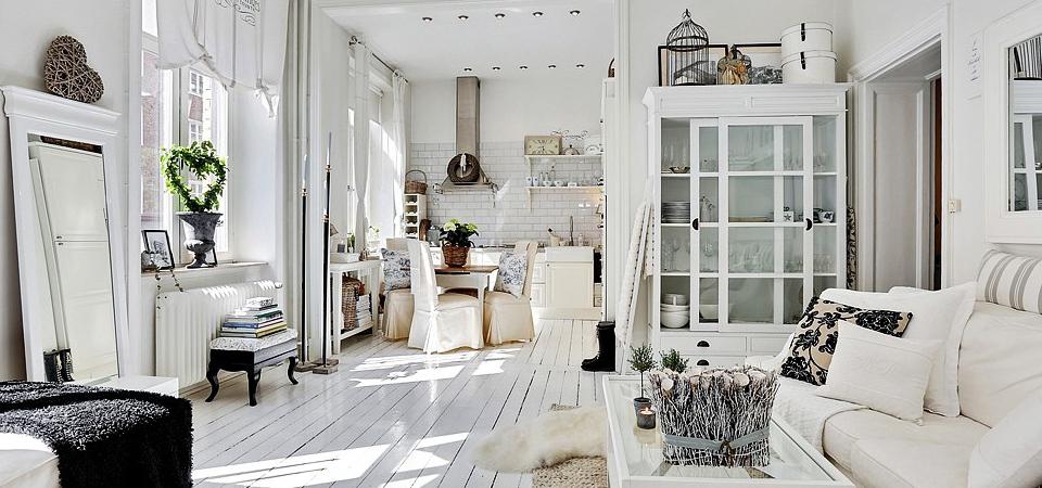 Квартира-студия в скандинавском стиле: основы и приёмы