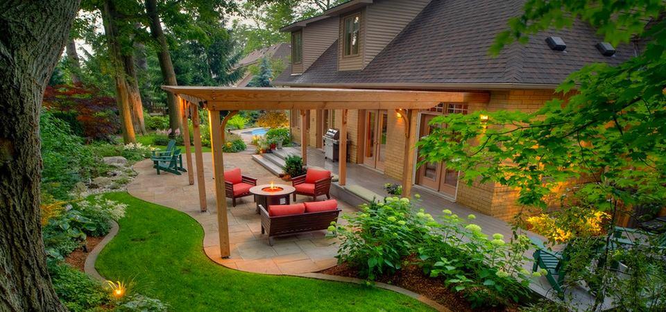 Как распланировать 10 соток: сад, огород, место для отдыха, стоянка для машины