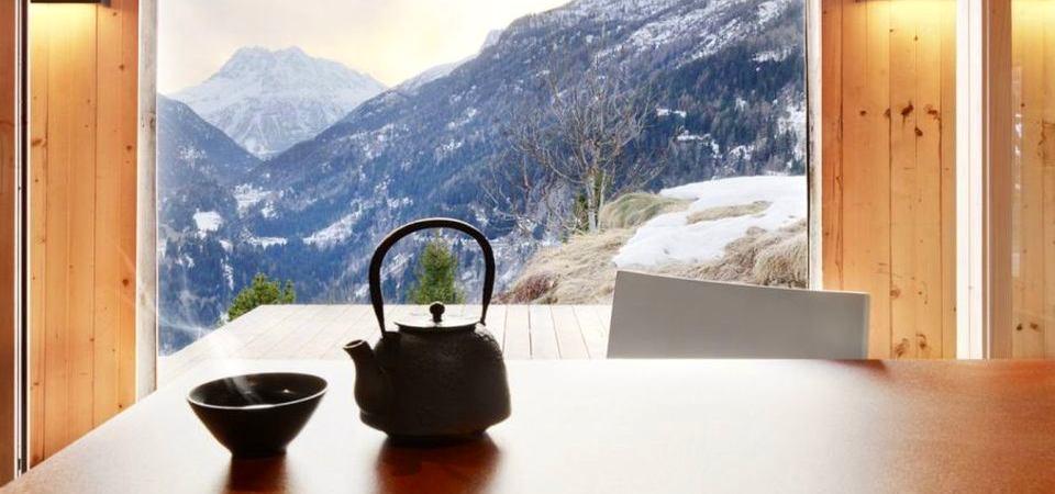 Дом с видом на Альпы, пример которого вас вдохновит