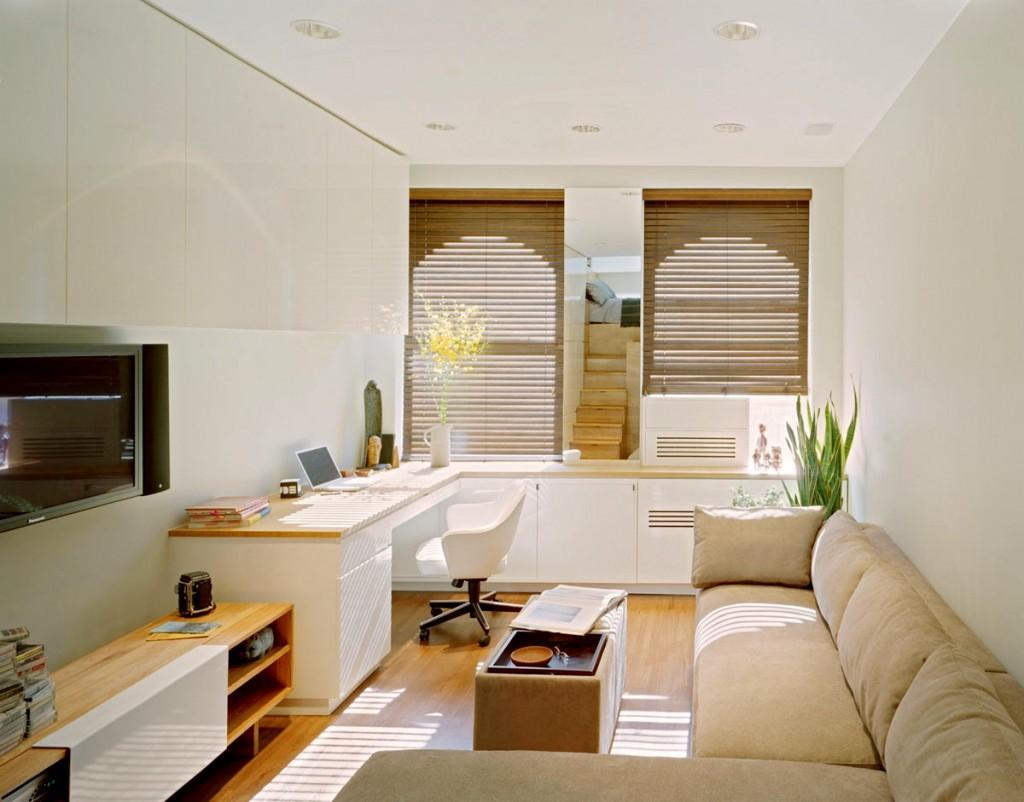 Гостиная, холл в цветах: белый, коричневый, бежевый. Гостиная, холл в стилях: минимализм, скандинавский стиль.