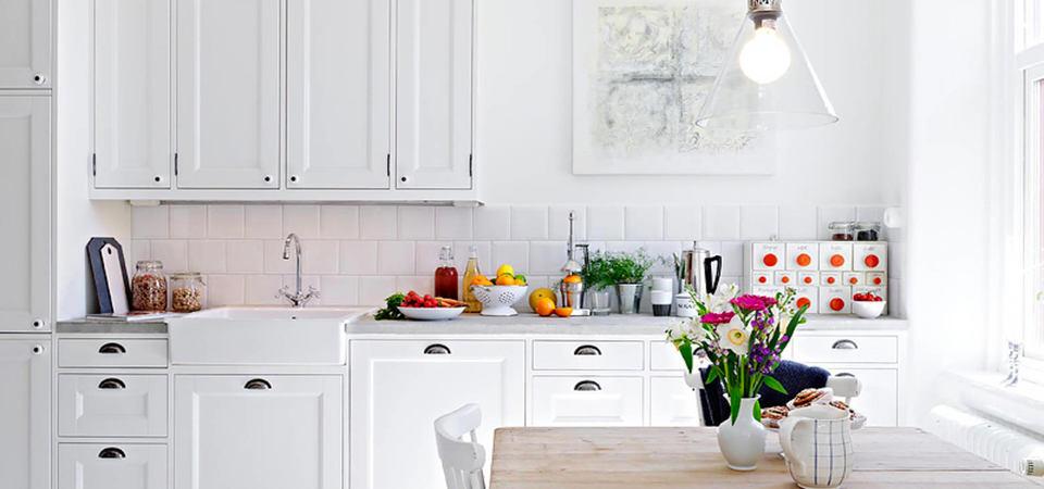 40 белых кухонь, которые не оставят вас равнодушным