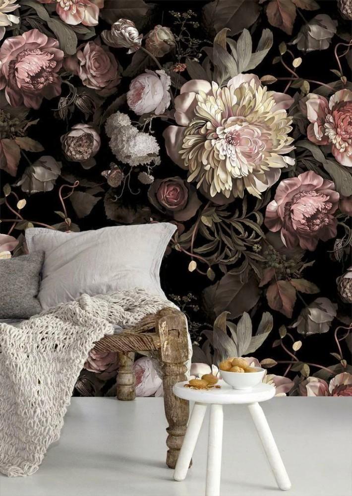 Гостиная, холл в цветах: черный, серый, светло-серый, коричневый, бежевый. Гостиная, холл в стиле экологический стиль.