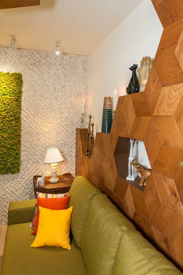 Мебель и предметы интерьера в цветах: желтый, светло-серый, белый, салатовый, коричневый. Мебель и предметы интерьера в стиле экологический стиль.