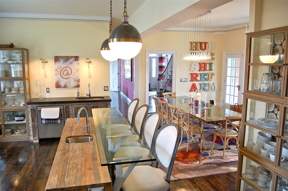 Кухня в цветах: серый, темно-коричневый, коричневый, бежевый. Кухня в стиле арт-деко.