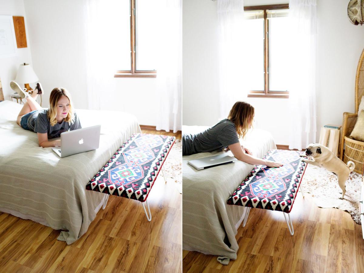 Мебель и предметы интерьера в цветах: бирюзовый, фиолетовый, серый, светло-серый, розовый. Мебель и предметы интерьера в стиле этника.