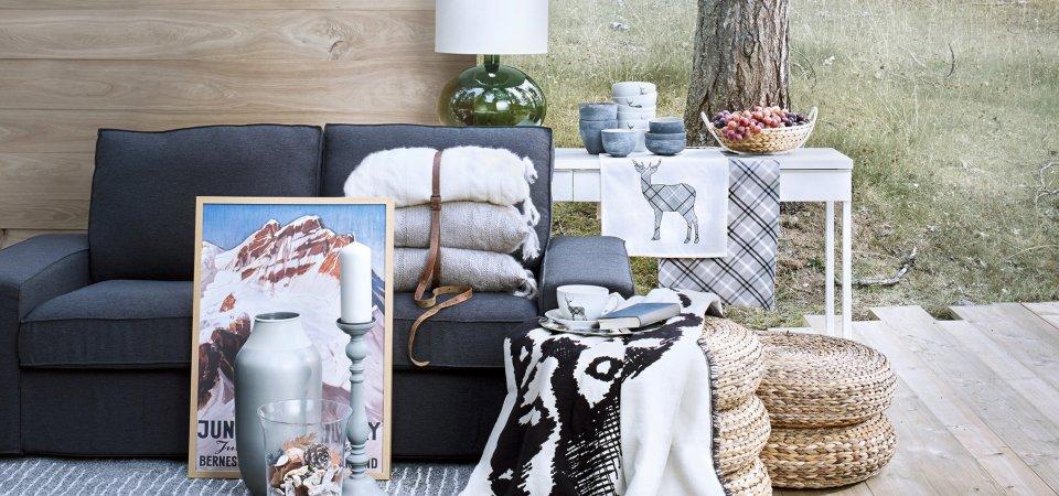 Как превратить квартиру в уютное шале с помощью мебели ИКЕА