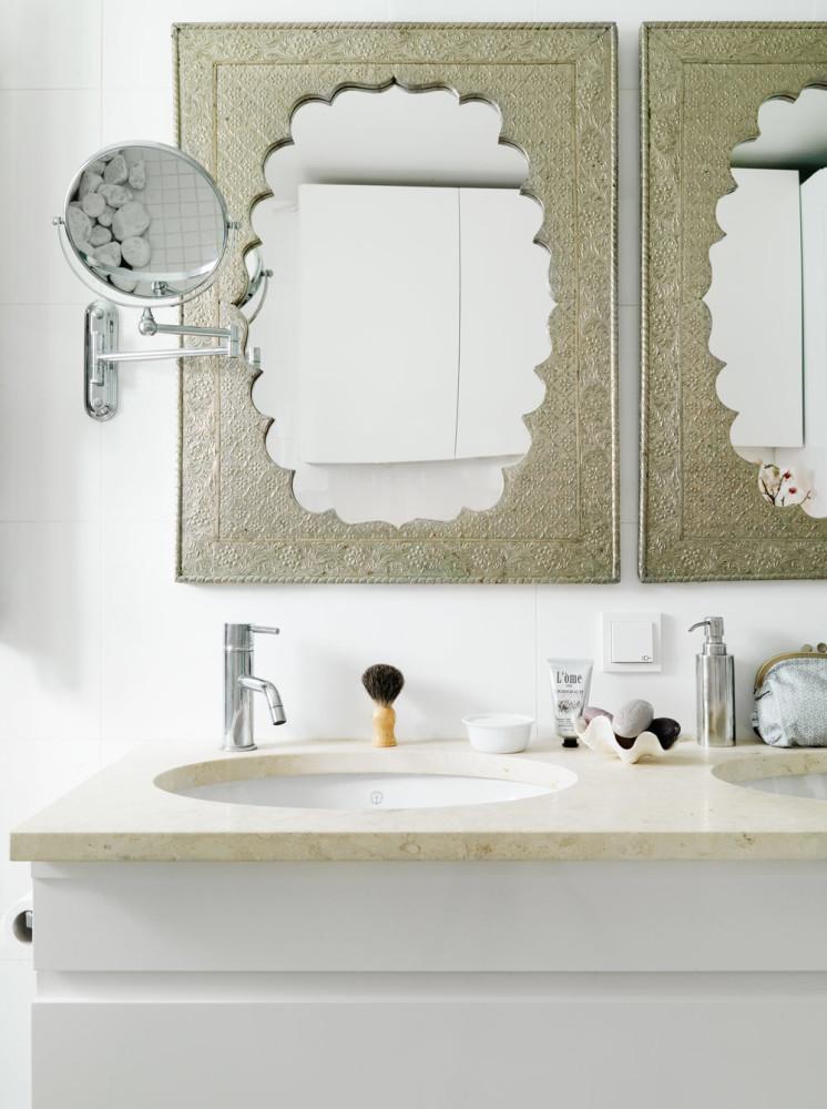 Туалет в цветах: черный, серый, светло-серый, бежевый. Туалет в стилях: ближневосточные стили, средиземноморский стиль, эклектика.