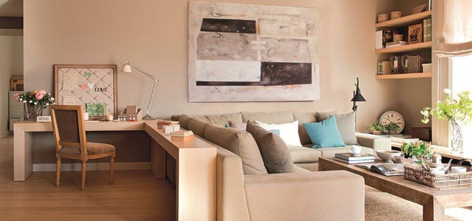 Как рационально использовать пространство: 5 советов на примере квартиры из Барселоны
