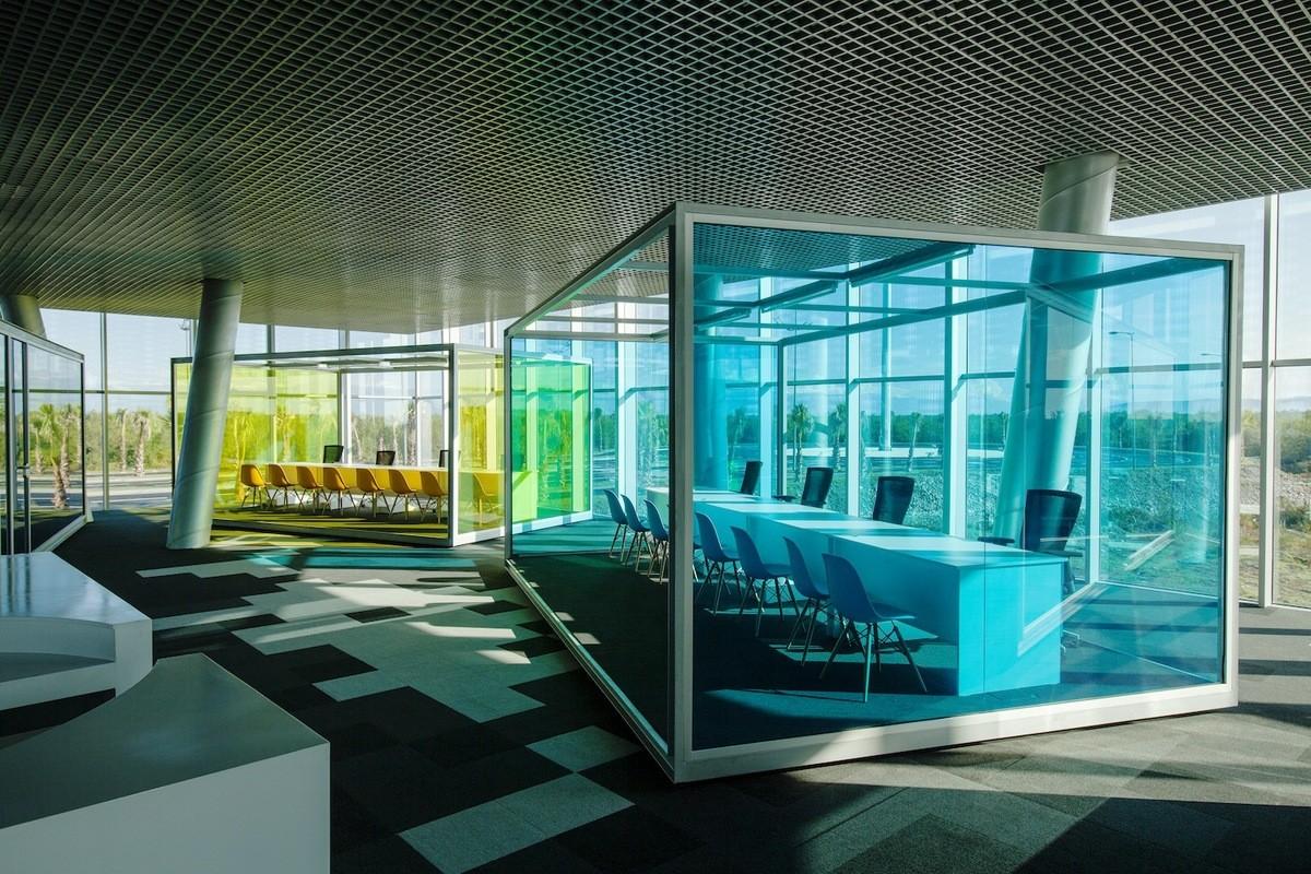Архитектура в цветах: бирюзовый, серый, сине-зеленый. Архитектура в стиле модерн и ар-нуво.