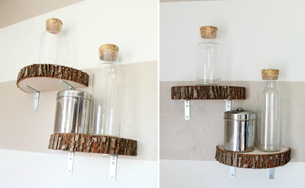 Декор в цветах: серый, светло-серый, белый, коричневый. Декор в стиле экологический стиль.