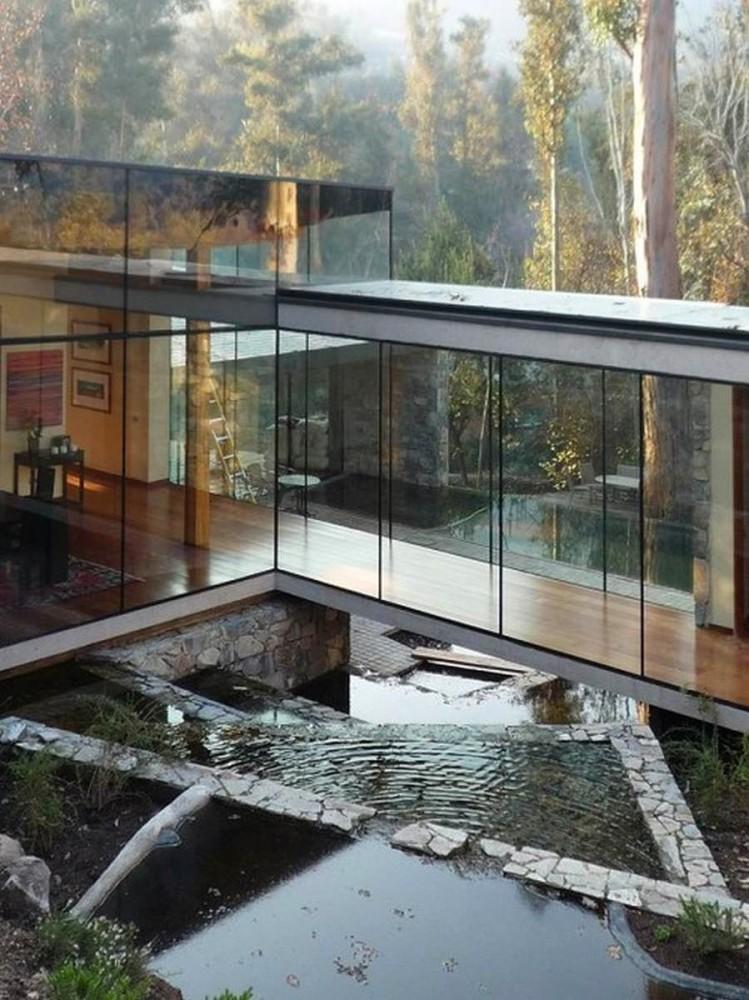 Архитектура в цветах: черный, серый, светло-серый, белый. Архитектура в стилях: минимализм.