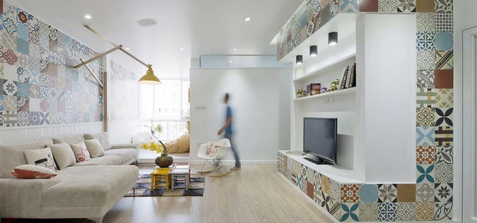 Дележ метров по-ханойски: 5-комнатная 83-метровая квартира