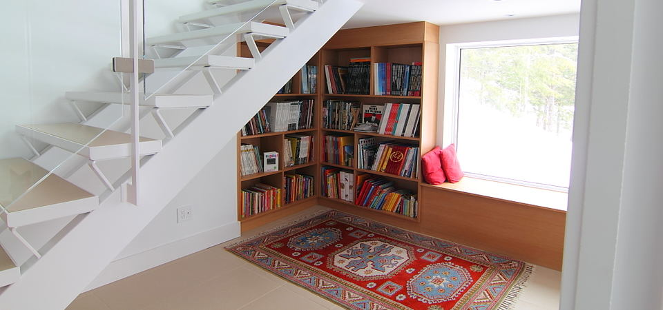 Как организовать место для чтения: 25 уютных примеров