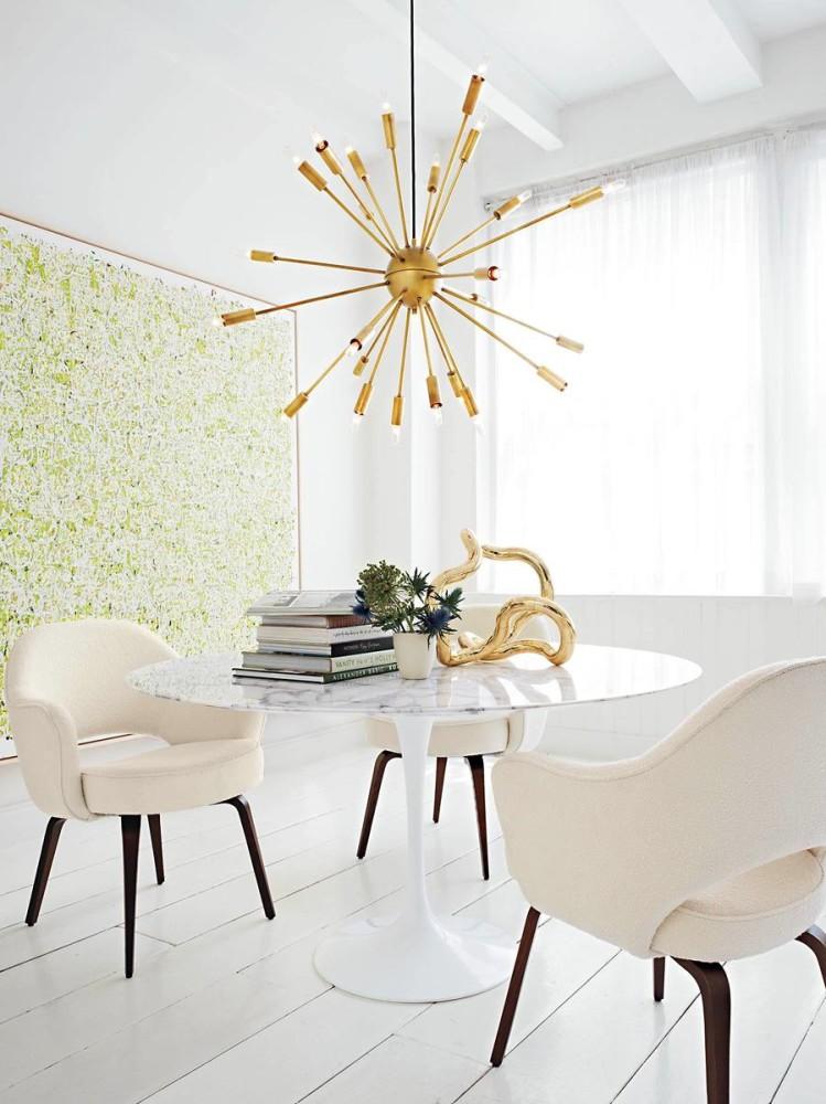 Мебель и предметы интерьера в цветах: серый, светло-серый, белый. Мебель и предметы интерьера в стиле поп-арт.