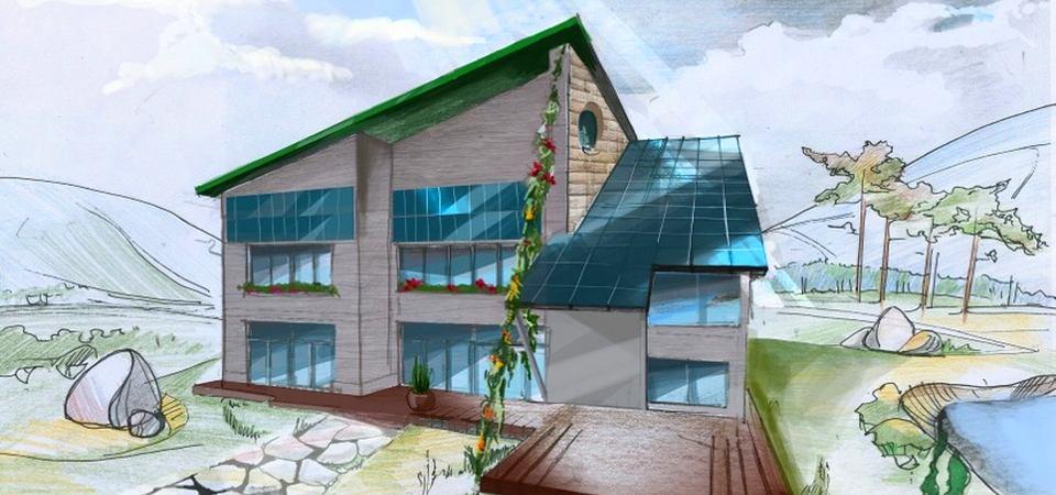 Энергосберегающий дом, в котором будет тепло даже зимой