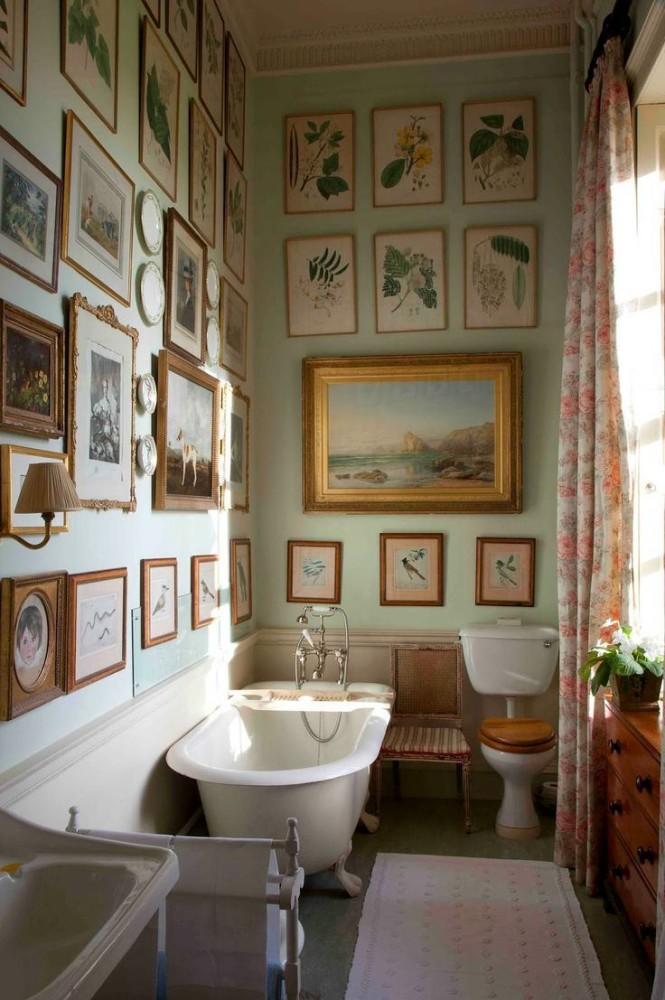 Мебель и предметы интерьера в цветах: серый, светло-серый, белый, темно-зеленый, бежевый. Мебель и предметы интерьера в стиле английские стили.