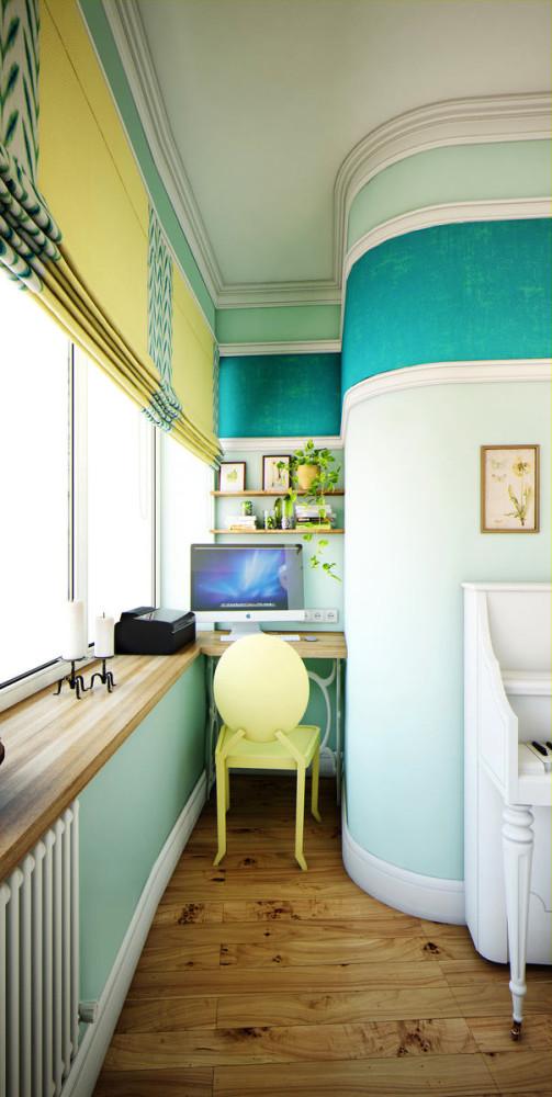 Мебель и предметы интерьера в цветах: бирюзовый, серый, светло-серый, белый. Мебель и предметы интерьера в стиле эклектика.