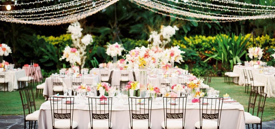 Как оформить свадьбу в саду: оригинальные идеи и 3 практичных совета