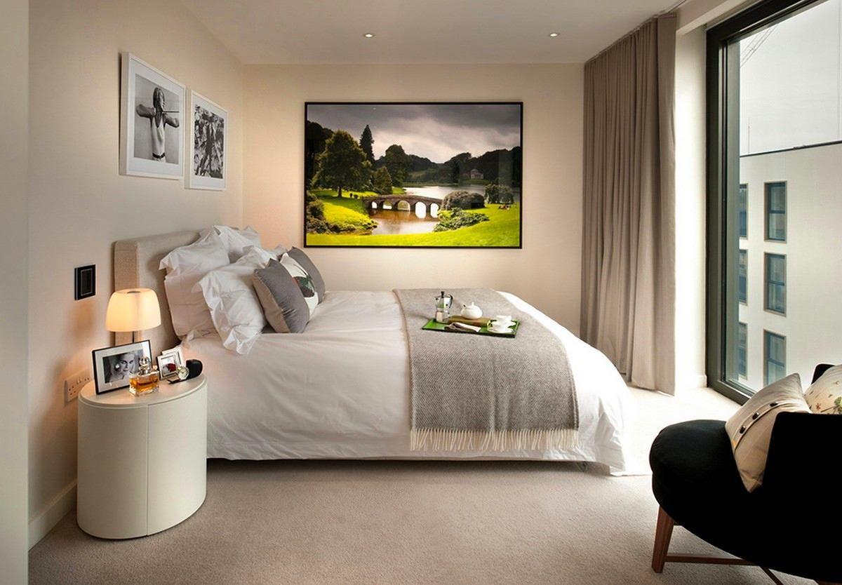Мебель и предметы интерьера в цветах: черный, серый, светло-серый, белый, коричневый. Мебель и предметы интерьера в стилях: минимализм.