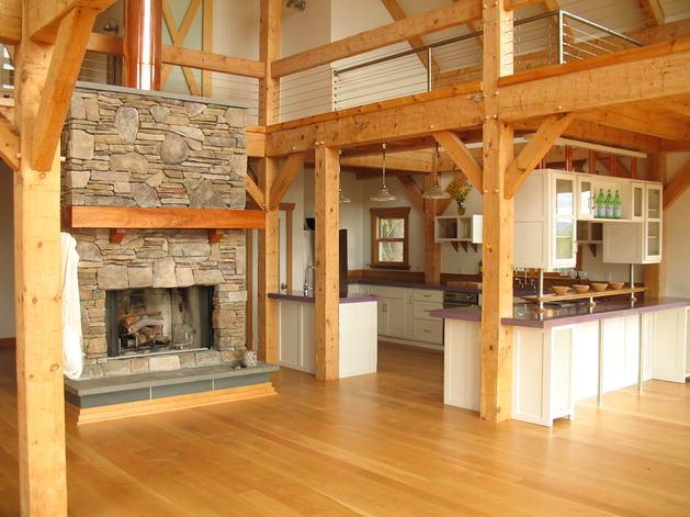 Кухня в цветах: белый, коричневый. Кухня в стилях: эклектика.