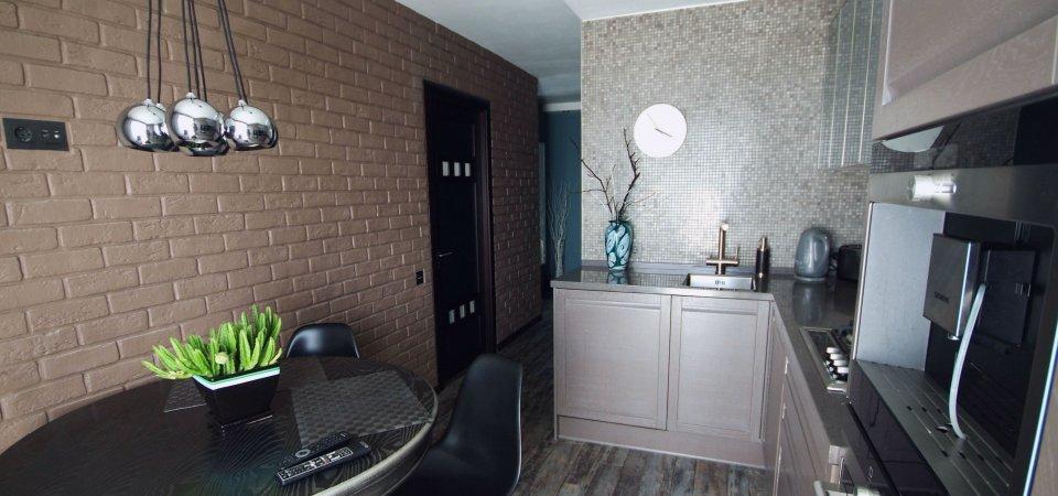 Сам себе дизайнер: шоколадная квартирка психолога Ольги