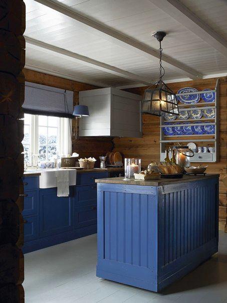 Кухня в цветах: бирюзовый, серый, белый, коричневый. Кухня в стилях: кантри, скандинавский стиль.