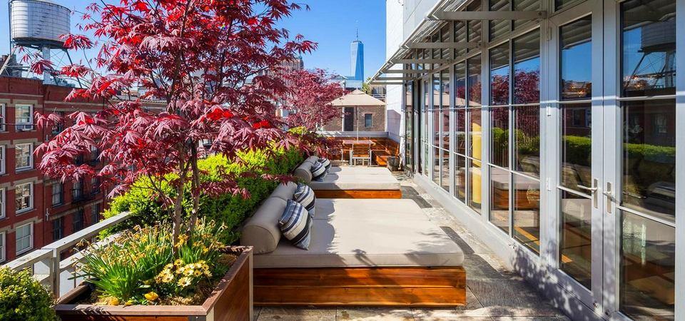 14 самых красивых балконов и террас Нью-Йорка