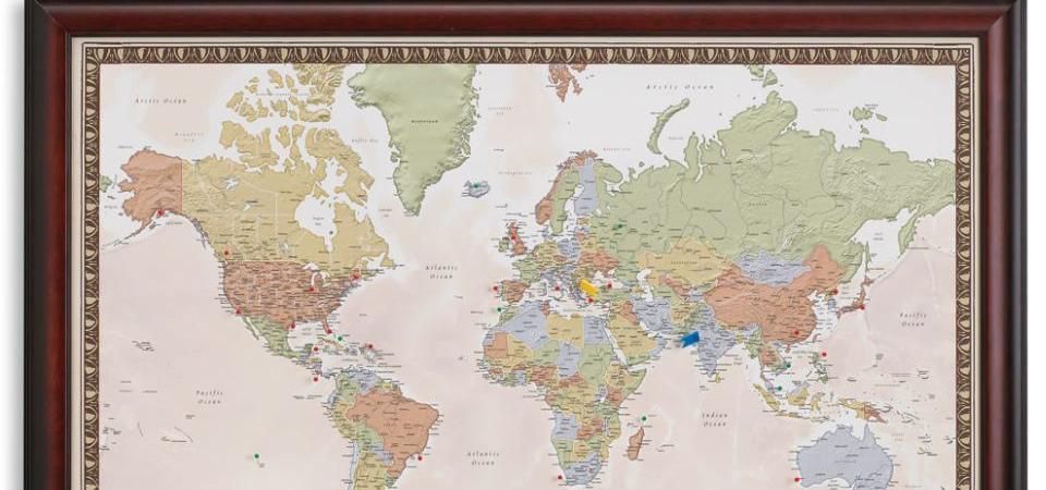 Находка для авантюриста: индивидуальная карта путешествий