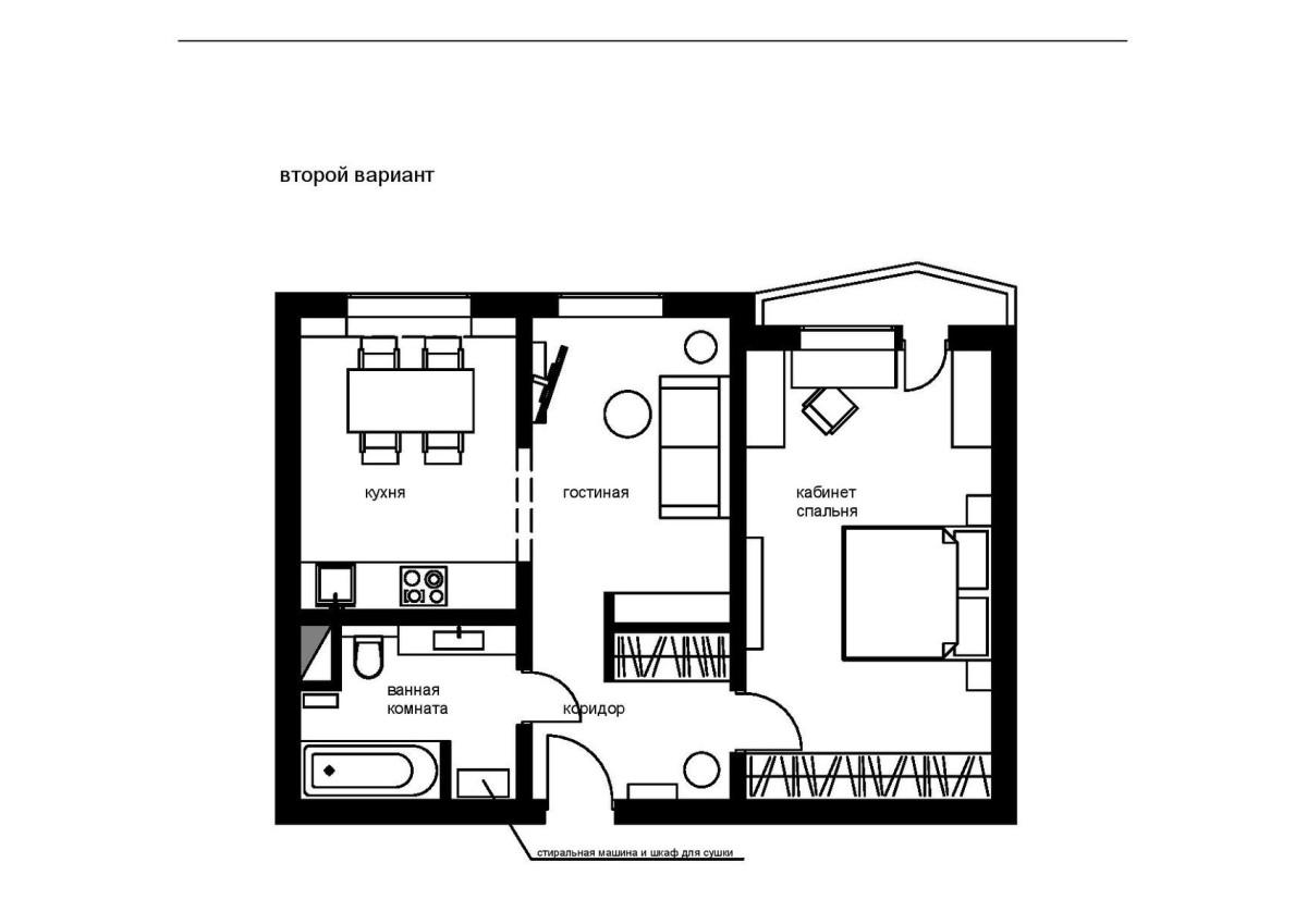 Архитектура в цветах: черный, белый. Архитектура в .