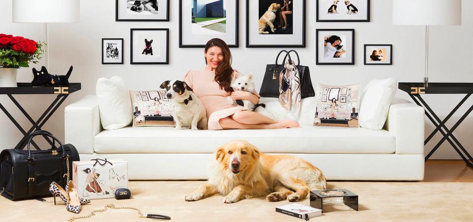 Собачья радость: коллекция стильных домашних аксессуаров для питомцев