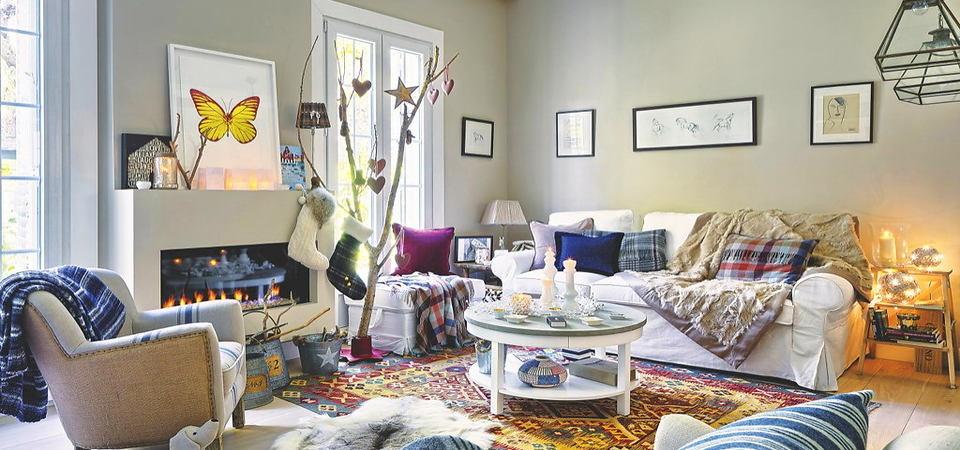 Дом для счастья: эклектика, в которой приятно жить