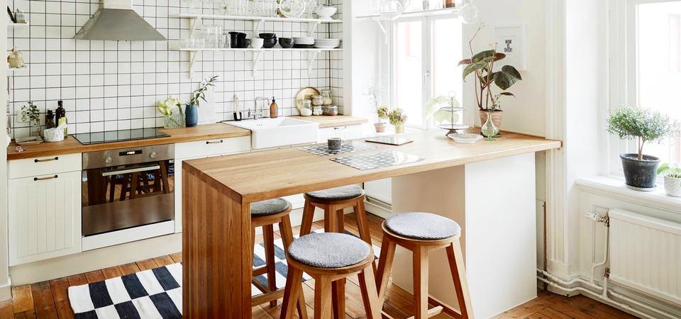 Скандинавские кухни: 25 красивых примеров и советы по их оформлению